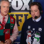 Kenny Albert wearing this sweater on air. TFM.