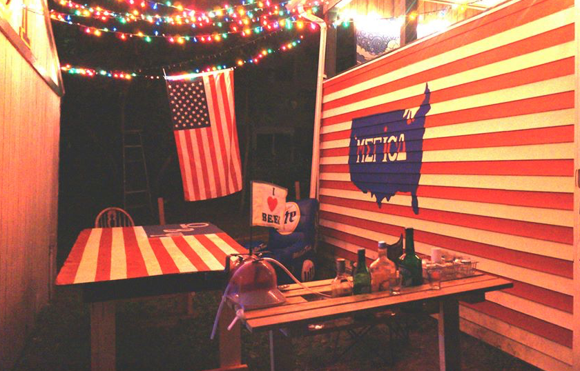 The All-American backyard. TFM