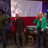 Spud Webb Plays Giant Beer Pong And Crushes Beers With Michelle Beadle