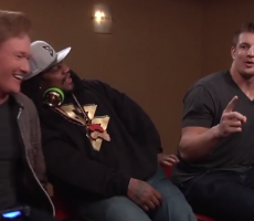 Gronk And Marshawn Hung Out With Conan, Neither Know What Lipitor Is