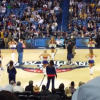 Will Ferrell Nearly Decapitates NBA Cheerleader With A Basketball