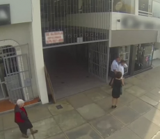 Guys Catcall Women On The Street, Turns Out To Be Their Moms In Disguise