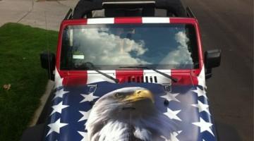Blake Anderson's Jeep. TFM.
