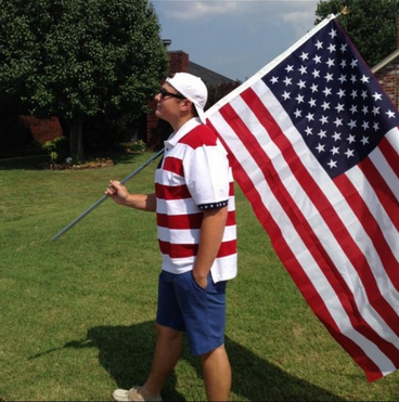 Reminding everyone who the greatest country on earth is. TFM.