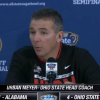 Check Out The Shock On Urban Meyer's Face When Hearing Of Oregon's 39-Point Thrashing Of FSU