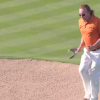Miguel Angel Jimenez Nails A Hole-In-One, Celebrates With An Old Man Dance