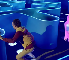 Bud Light Made A Life Sized Pac Man