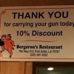 Getting a discount for carrying. TFM.