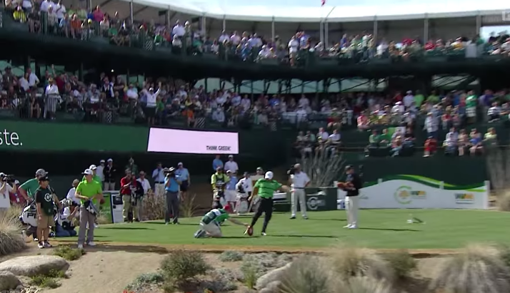 The PGA Is Taking Away Your Fun At The Waste Management Open's 16th Hole