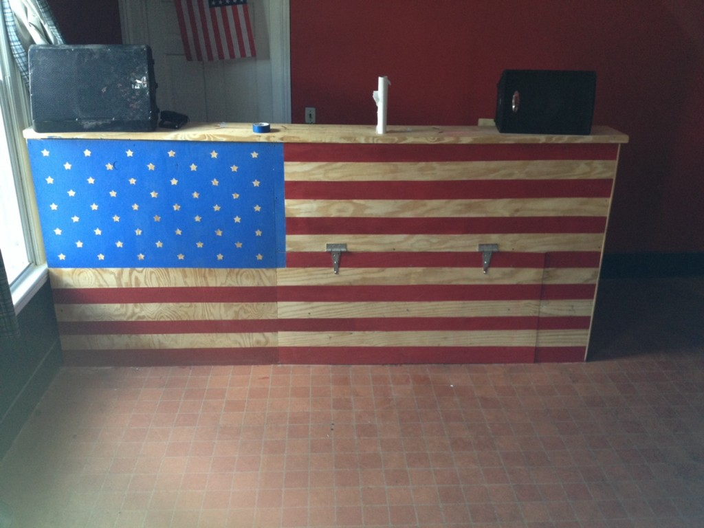 The new American bar. TFM.
