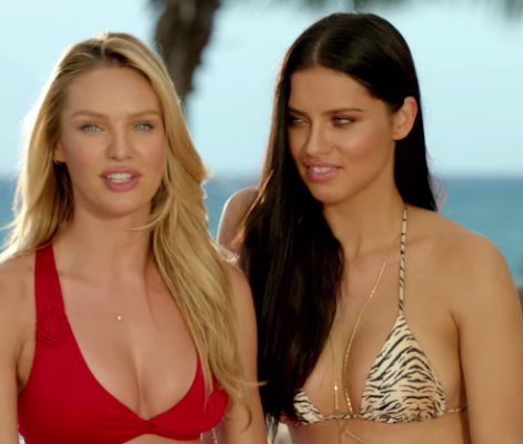 Victoria's Secret Models Look Hot And Funny In The Swim Special Outtakes