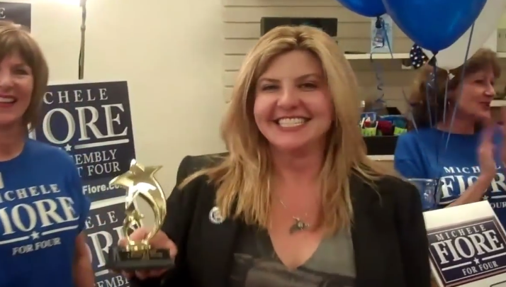 "Nevada Assemblywoman Wants To Arm ""Young, Hot Little Girls"" With Guns on Campus"