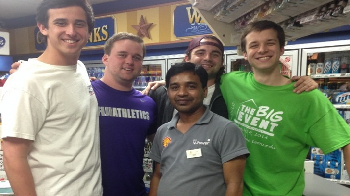 Gas Station Attendant Gets Ticket For Selling To Underage A&M Kids, They Raise Money To Pay It