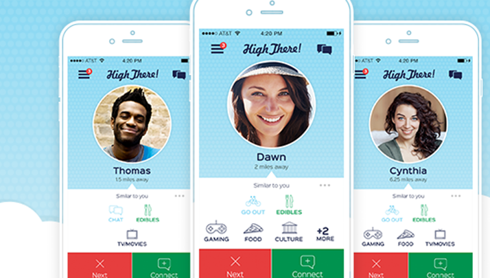 There's Now a Tinder Exclusively for Potheads