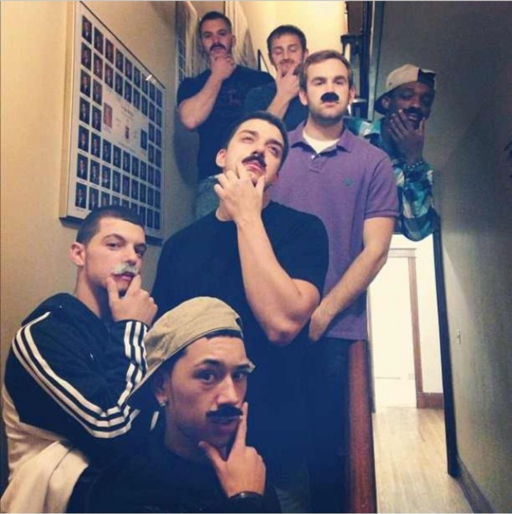 Who wants to party with the creep stache crew?
