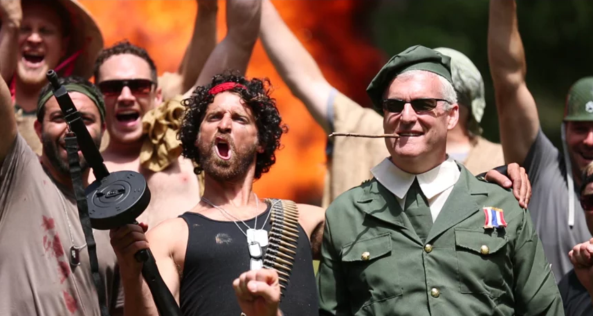 Awesome Dudes Remade Rambo In Its Entirety For Best Friend's Surprise Bachelor Party
