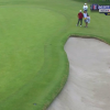 Scott Piercy Goes Back And Forth Between Bunkers, Might Want To Quit Golf Now
