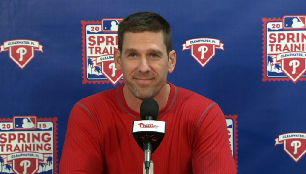 Phillies Pitcher Cliff Lee Answered Press Questions Using A Magic 8-Ball