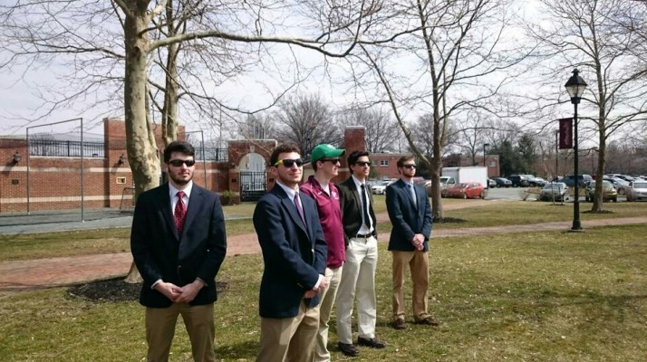Pledges protecting the President at all costs. TFM.