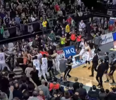 Spanish League Basketball Players Decide To Brawl Instead Of Finish The Game