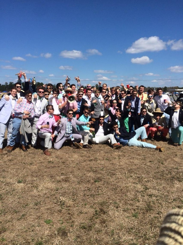 Not caring about the races at Carolina Cup. TFM.