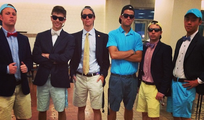 First Person Timeline of a Freshman Try Hard's First Visit to a Fraternity Party