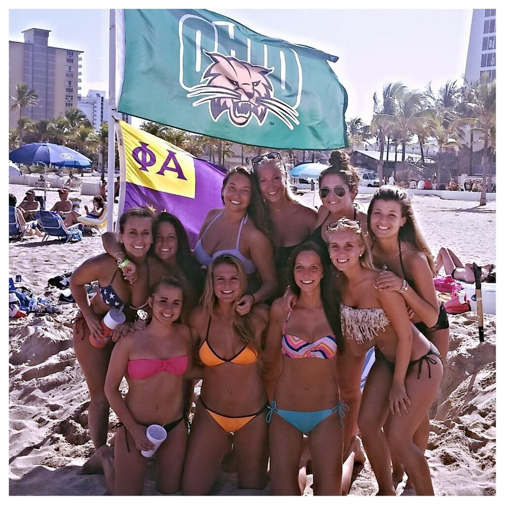 Ohio U takes over Ft. Lauderdale. TFM.
