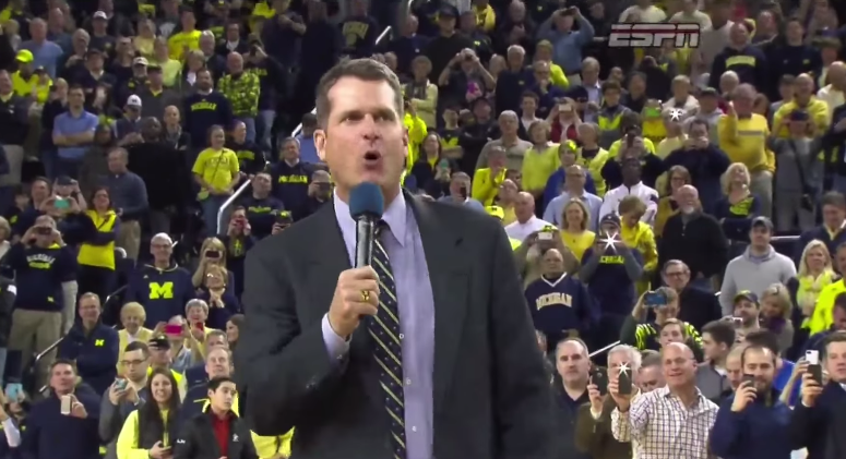 Jim Harbaugh Is So Popular That He Finished Fourth In Michigan's Student Presidential Election