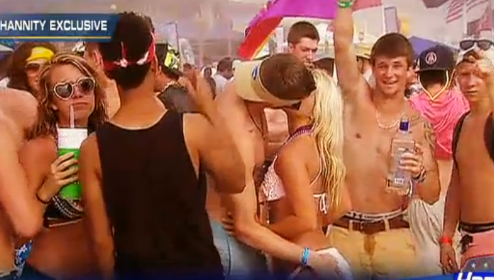 FOX News Sent Their Hot Blonde Reporter Back To PCB, Spring Break Is Still As Crazy As Last Year