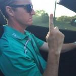 Jimmy Walker after winning the Texas Open. TFM.