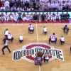 Ohio State's Football Team Performed With The Dance Team At Halftime And Put On A Show