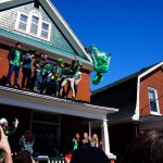 Rooftop backflips. TFM.