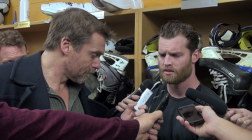 Hockey Players Giving Formulaic Answers To Hilarious Media Questions