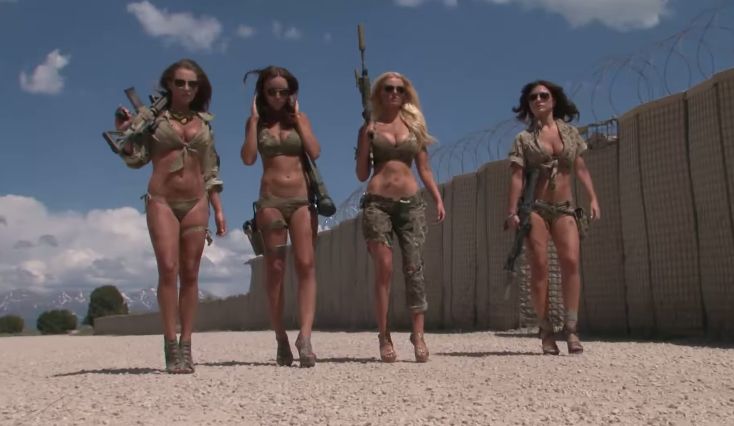 Cops Supplys Guns To Big Breasted Girls For Calendar Shoot, I'm Not Sure Why He's Suspended
