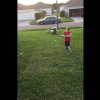 Dad Films Son While Pitching BP To Him, Takes A Liner To The Face