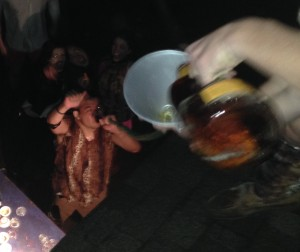 The two-story Fireball bong. TFM.