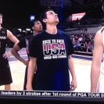 Marshall Henderson wearing this shirt while playing pro basketball in Iraq. TFM.