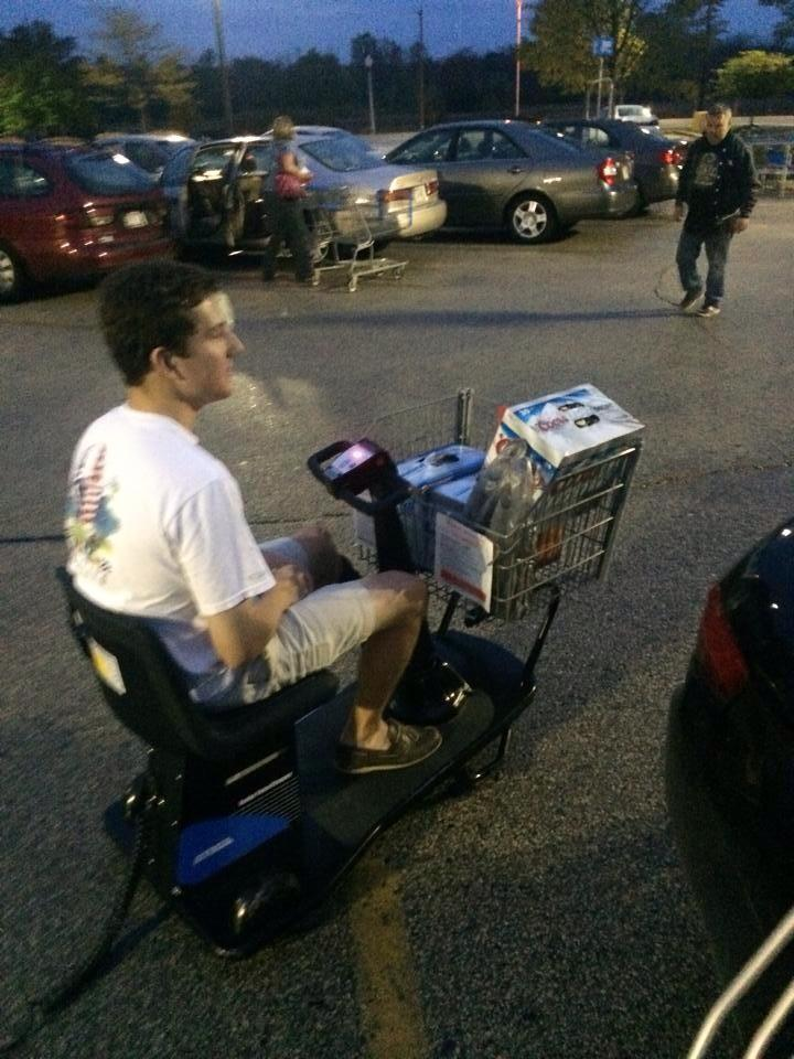 Not letting an injury stop you. TFM.