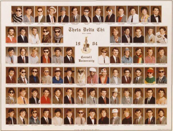 Cornell Theta Delta Chi 1984. TFM.