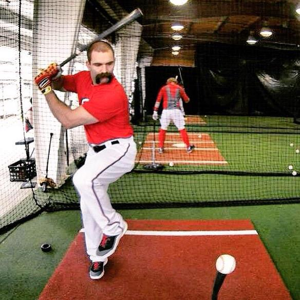 Danny Espinosa killing the facial hair game. TFM.