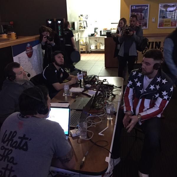 Travis Kelce's jacket. TFM.