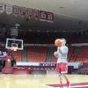 OU Senior Does Basketball Trick Shots For Charity