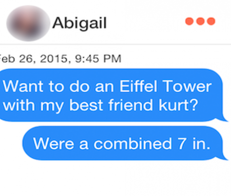 Ridiculous Tinder Pickup Lines, Part 34