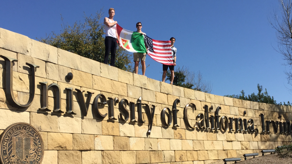 Not letting your university get in the way of national pride. TFM.