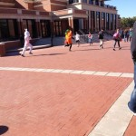 Pledge costume races. TFM.