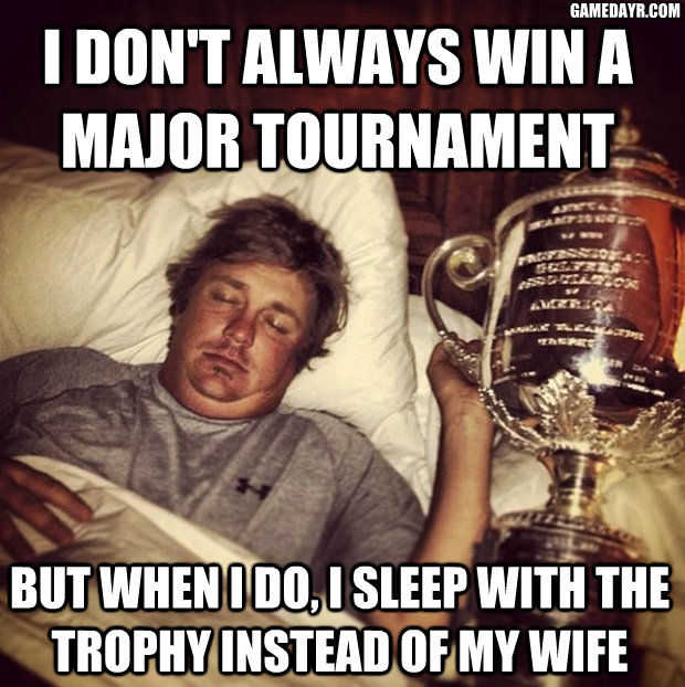 Total Frat Move | Formerly Fat Jason Dufner And Currently Hot Wife ...
