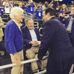 Coach K and 41. TFM.