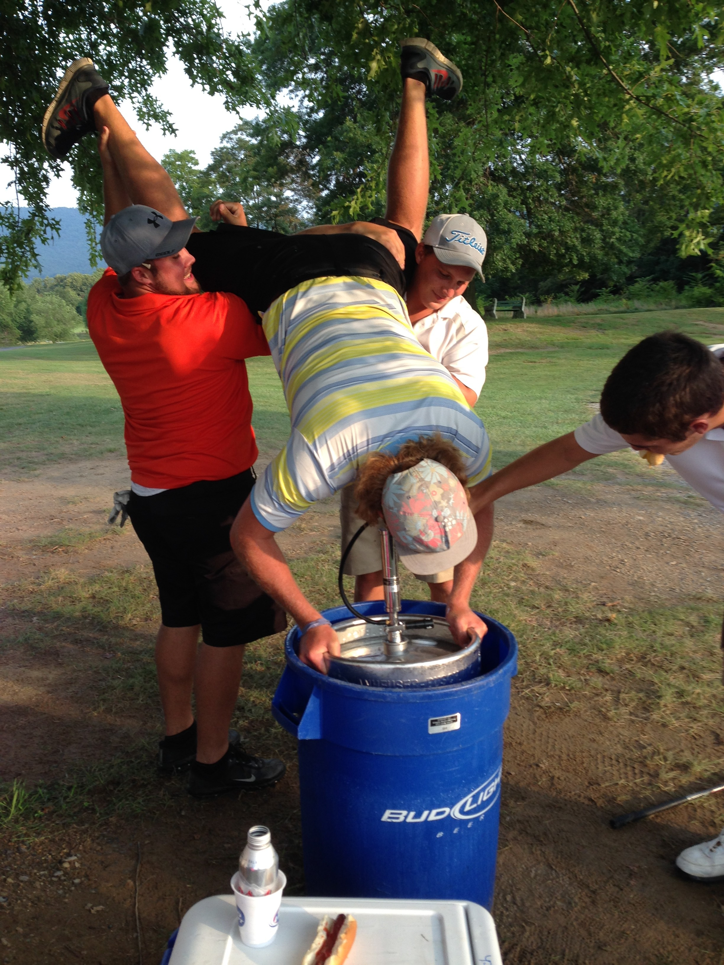 Keg stands mid round. TFM.