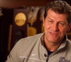 Geno Auriemma Says Men's College BBall Is A Joke, Forgets He Coaches Women's BBall