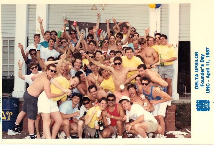 DU at UNC Founder's Day in 1987. TFM.